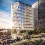 40 tenth avenue, solar carve, jeanne gang, gang studios, Aurora, high line, meatpacking, new developments, commercial developments, architecture