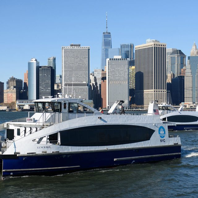 NYC Ferry now connects the South Bronx and Wall Street, cutting travel time in half