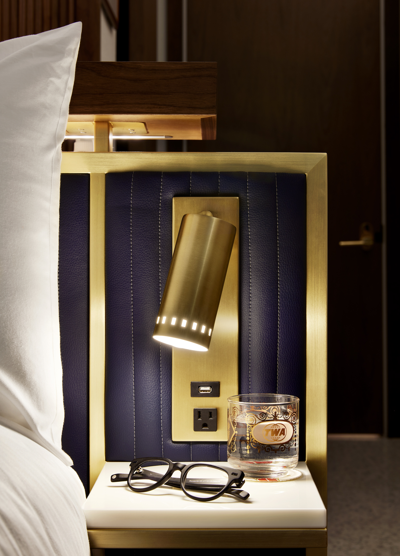 Hotel Guest Room: First Look At The Glamorous, Sixties-inspired Guest Rooms