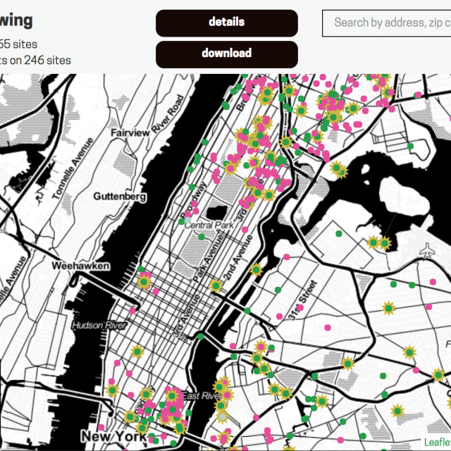 Living Lots map helps New Yorkers transform vacant land into community spaces