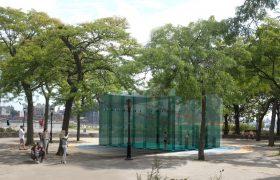 Public Squash, Squash NYC, Hamilton Fish Park, outdoor squash court