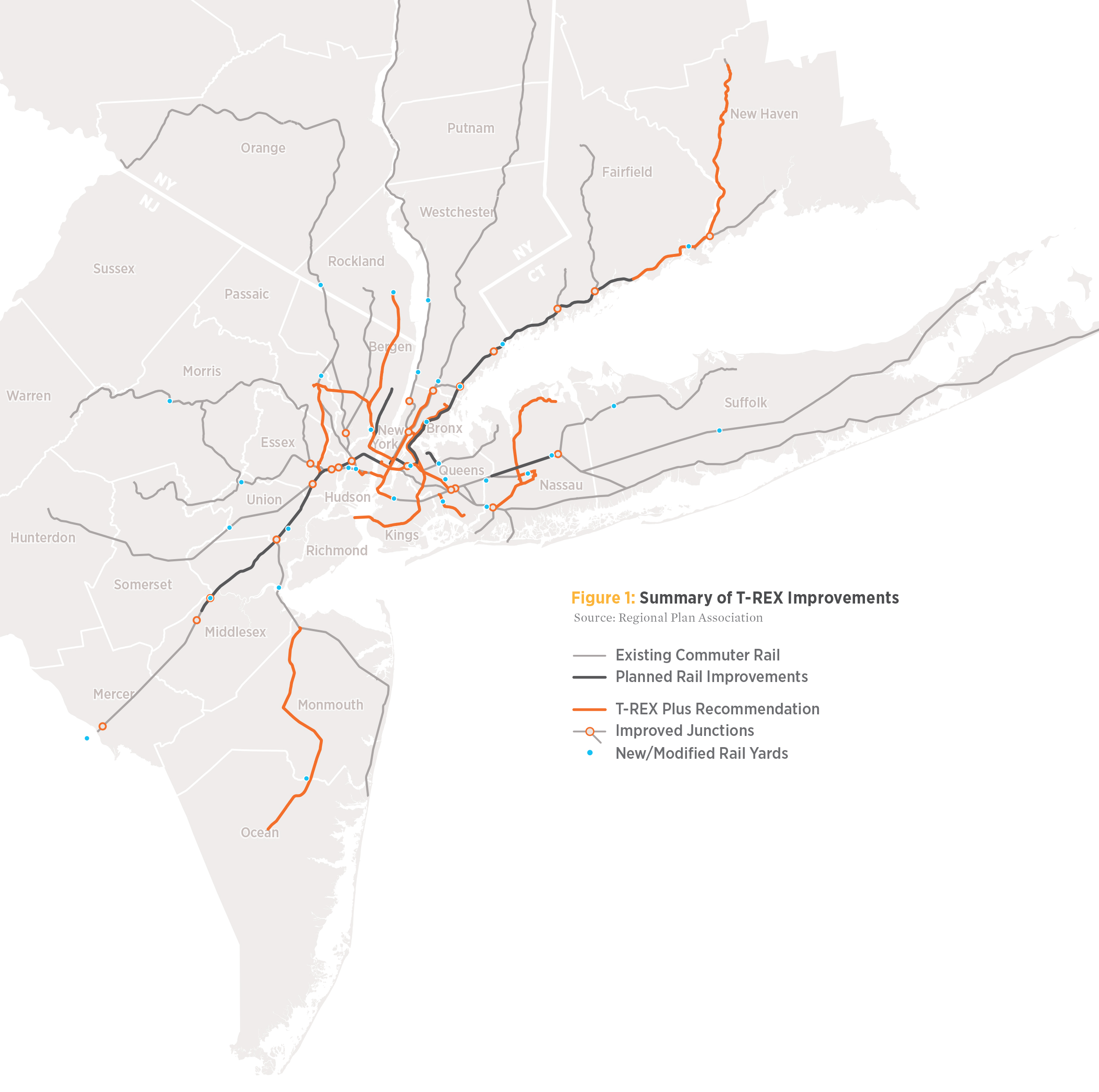 New RPA report calls for combining LIRR, NJ Transit and Metro-North ...