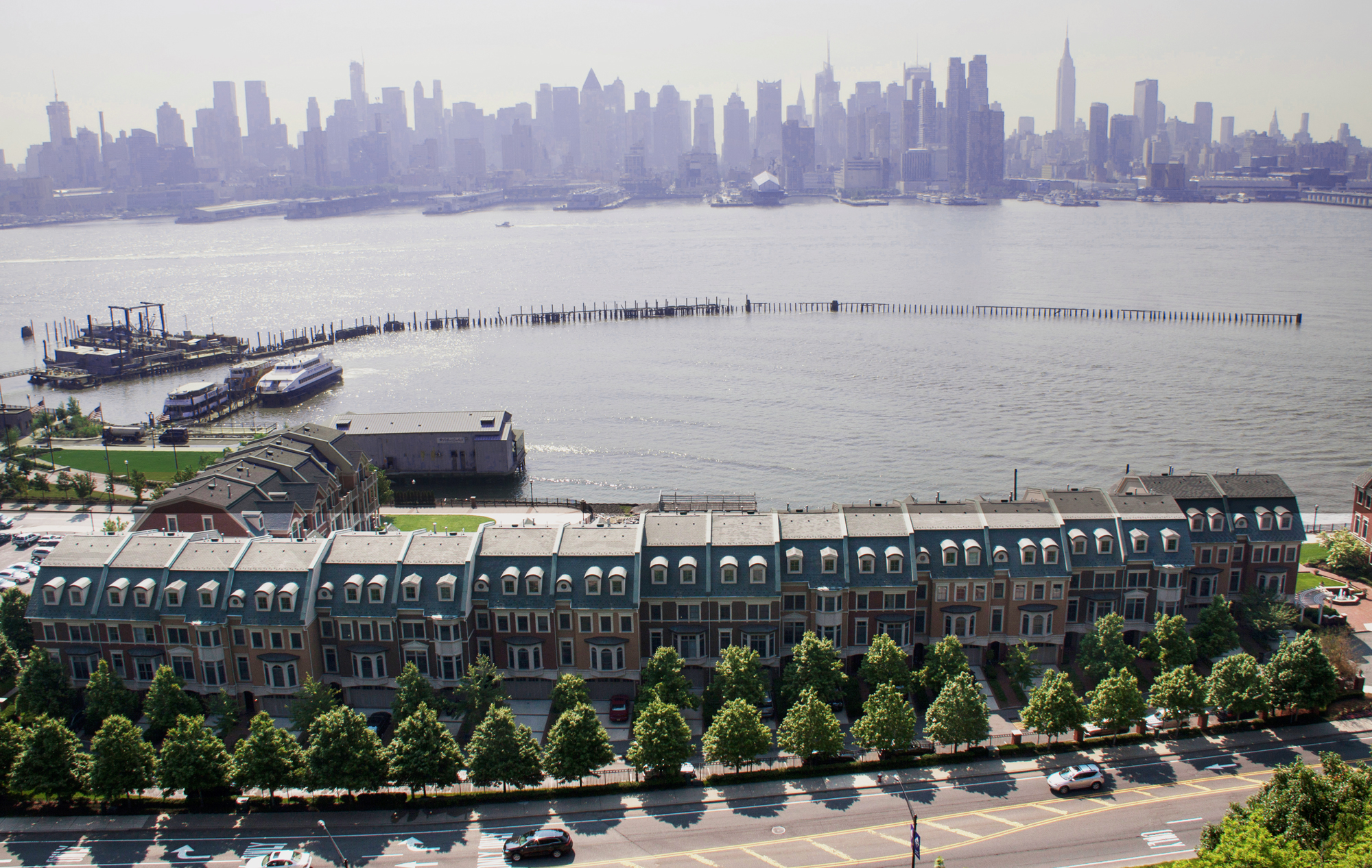 Why Weehawken Short Commutes And Nyc Skyline Views Along