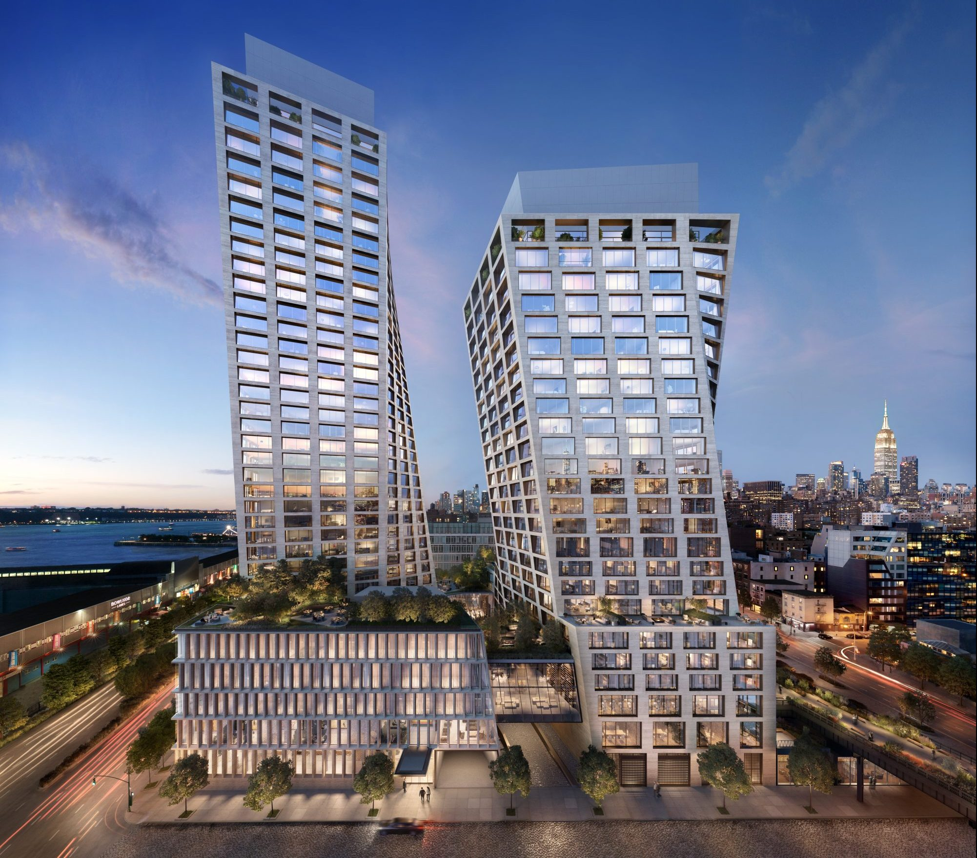 Bjarke Ingels Reveals New Renderings Of Twisting High Line