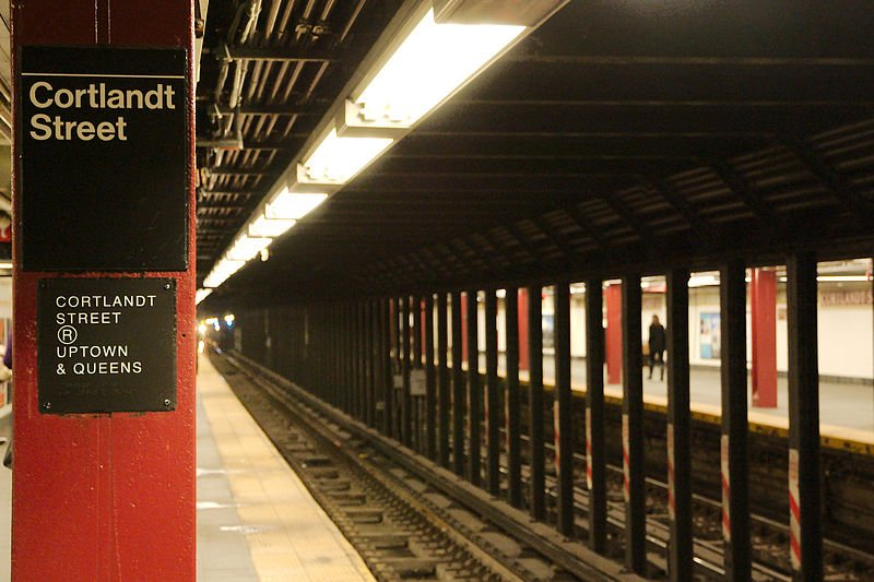 Cortlandt Street subway station, destroyed on 9/11, will reopen this fall