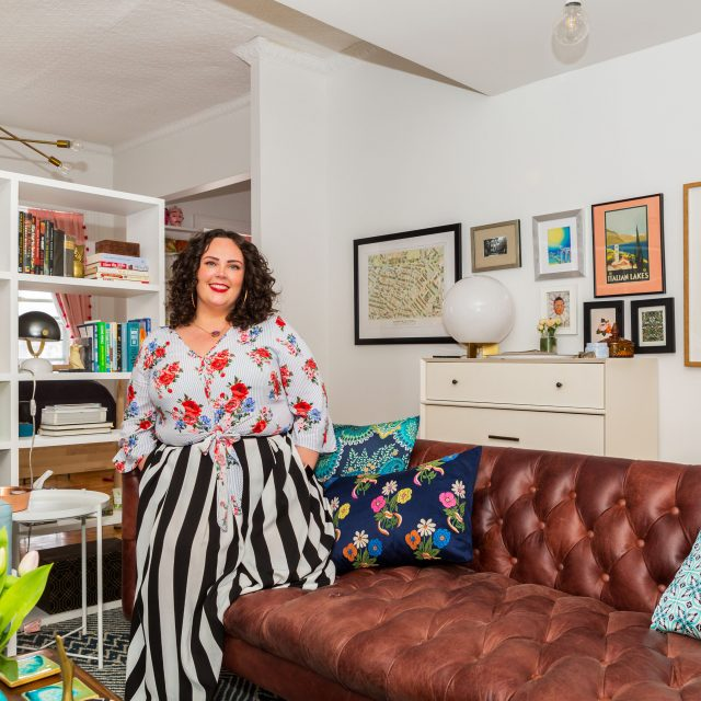 My 720sqft: A food and wine specialist serves up her retro, girly Jersey City studio