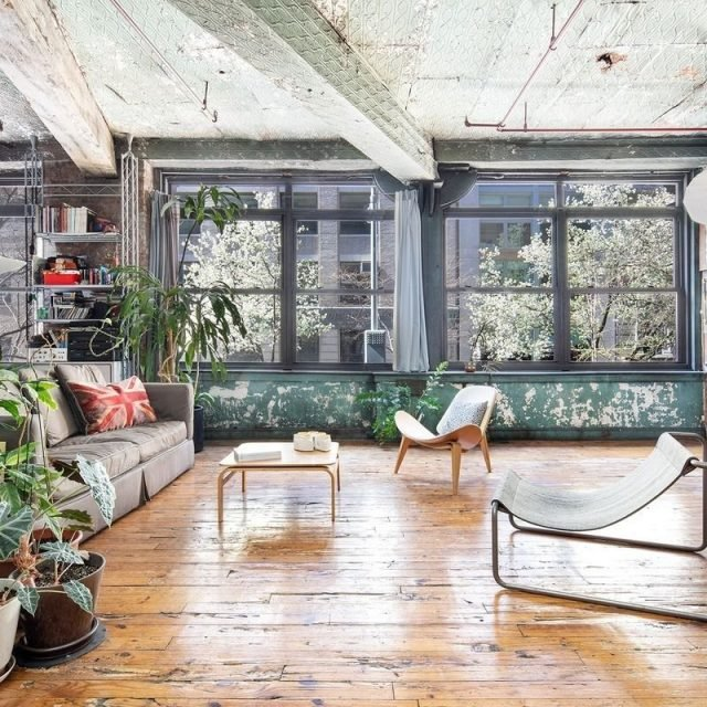 Perfectly patina-ed Chelsea artist's loft asks $2.75M