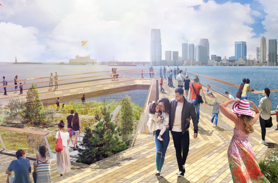 New renderings unveiled for Tribeca's educational, eco-focused park at Pier 26