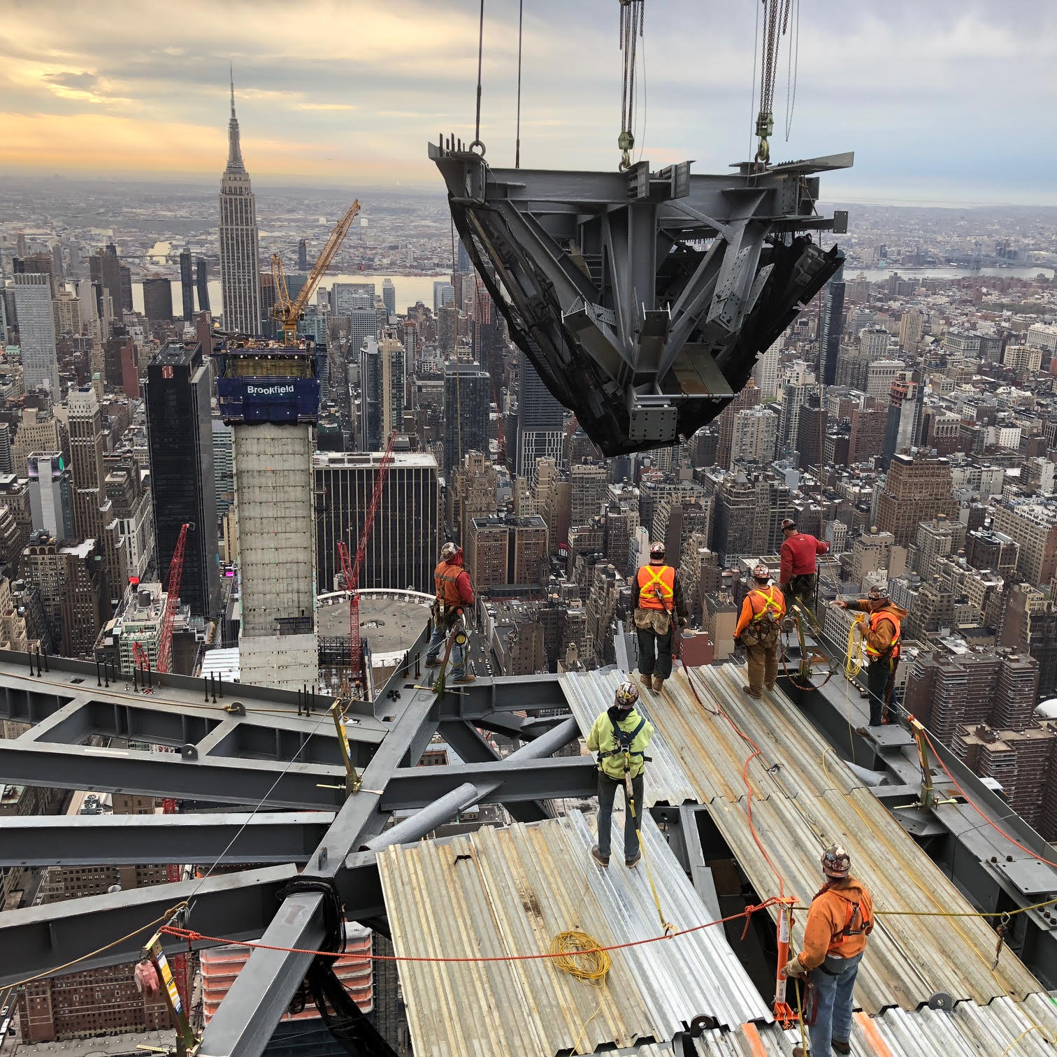 30 Hudson Yards observation deck April 2018 2 - New York's The Edge...
