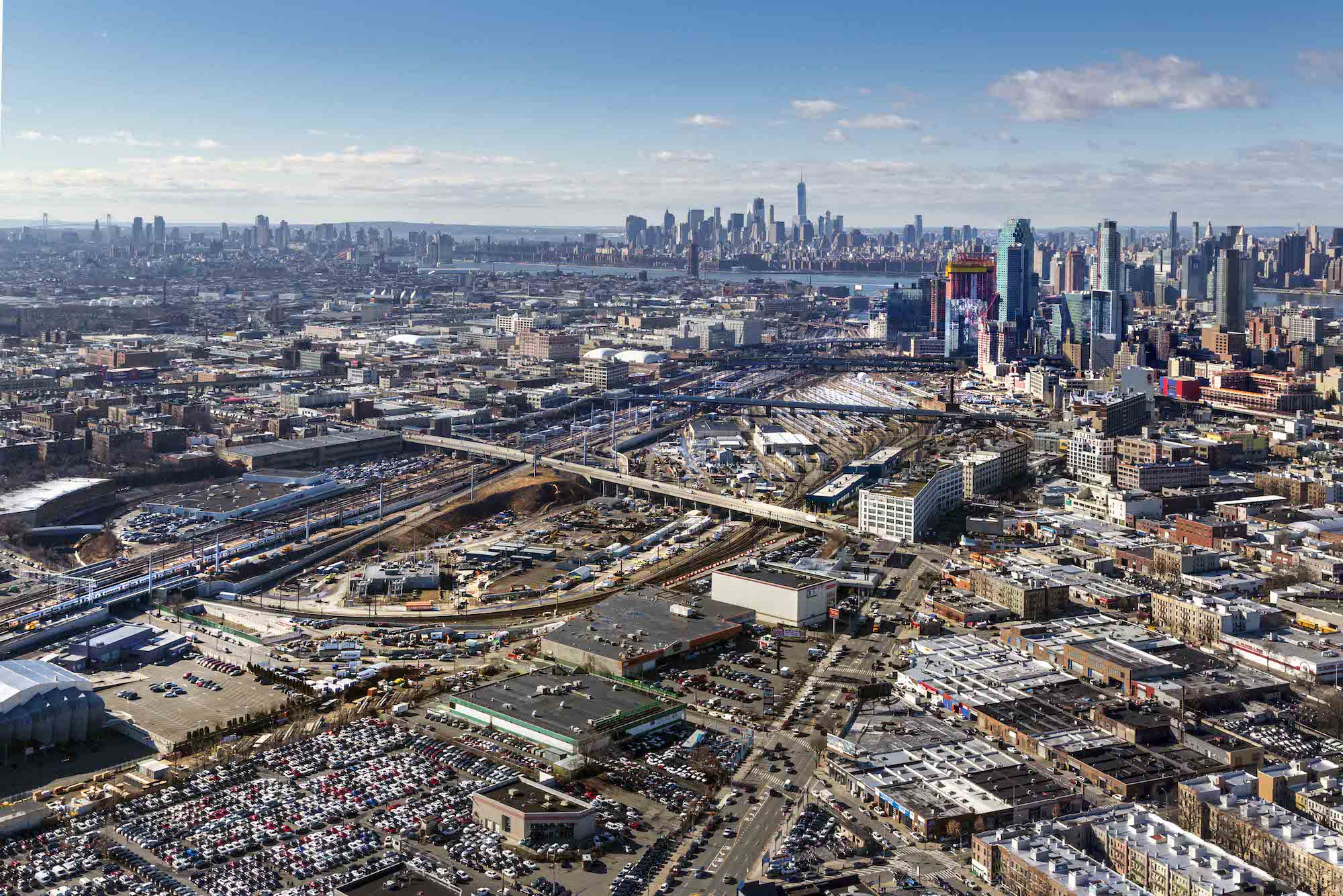 Sunnyside-Yard-NYCEDC Master planning for huge Sunnyside Yard project to begin this summer