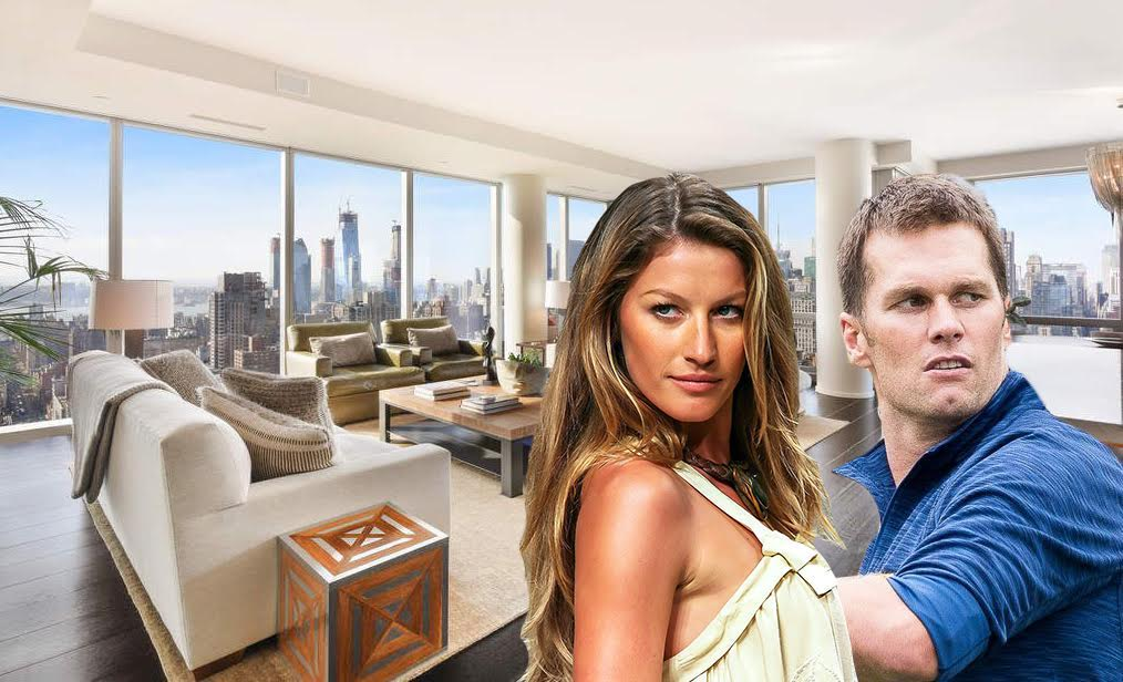 7c48d9d1 Tom Brady and Gisele Bundchen get serious about selling Flatiron pad ...