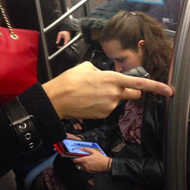 The Urban Lens: Hannah La Follette Ryan on her viral Instagram account 'Subway Hands'