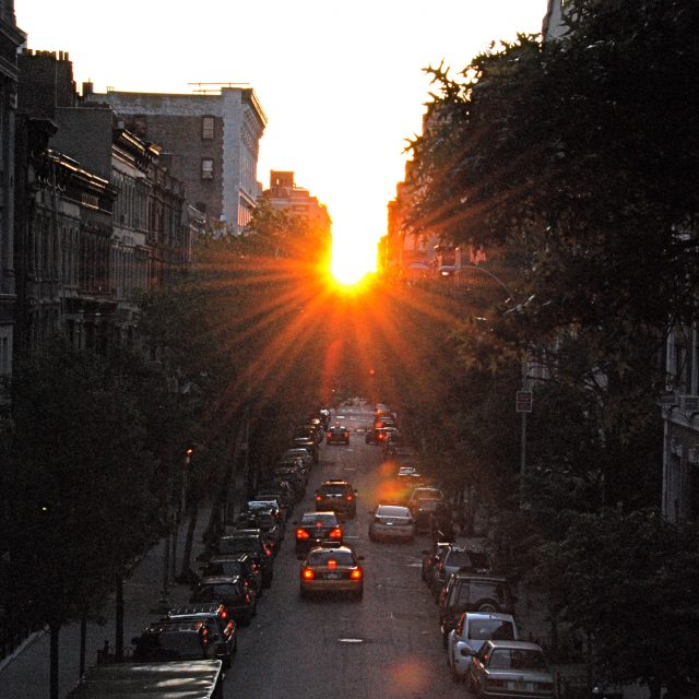 'Manhattanhenge' brings its magic back to the NYC grid next week