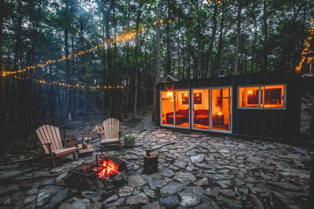 Go Off The Grid In A Catskills Shipping Container For 165 Per Night