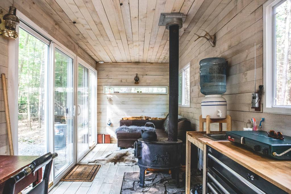Go Off The Grid In A Catskills Shipping Container For 165