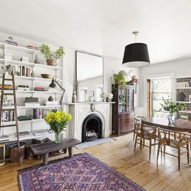 A charming two bedroom co-op in the Park Slope Historic District for under $1M