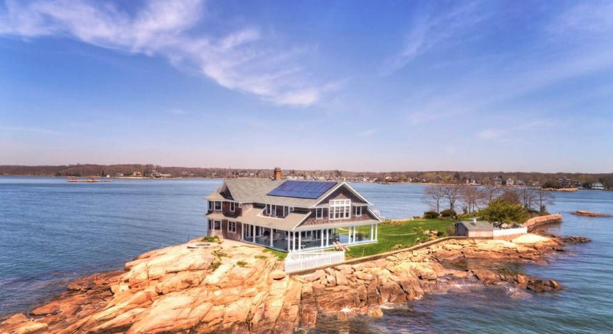 For $5M, own the private Potato Island with a 90-minute commute to NYC