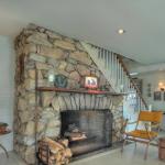 Potato Island fireplace