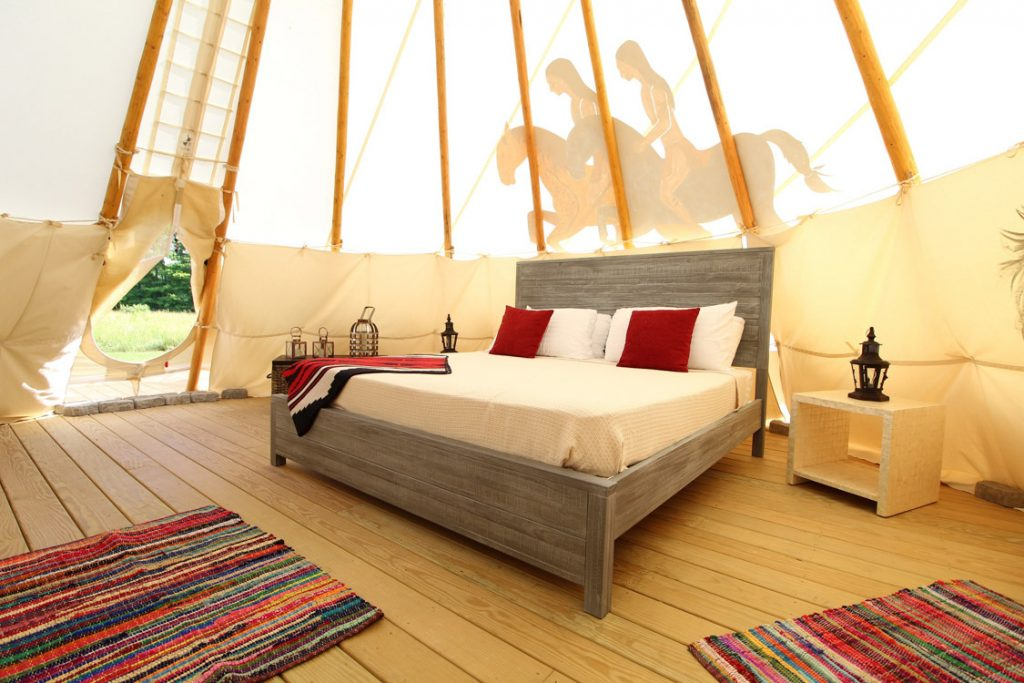 Mountain Farm Tipi