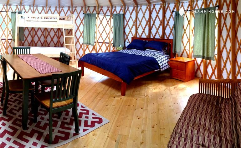 upstate yurts