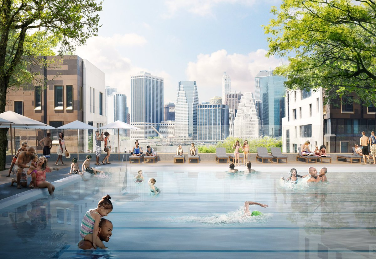 New Permanent Public Pool Coming To Brooklyn Bridge Park 6sqft
