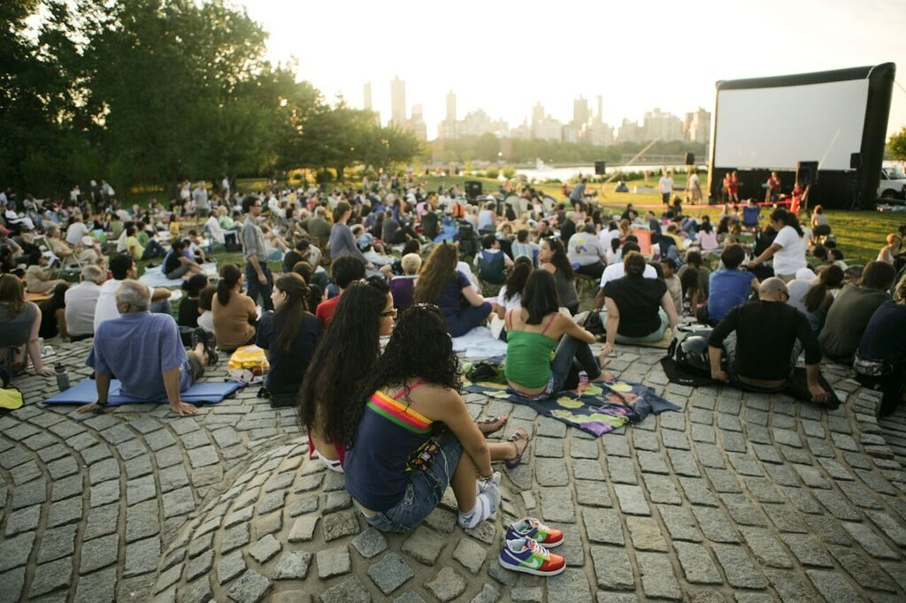 Socrates Sculpture Park Summer Movies