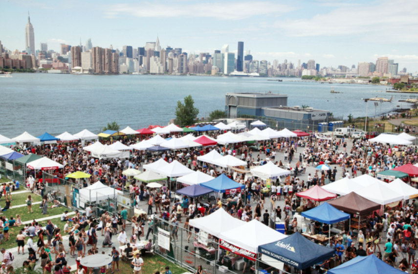 Smorgasburg Brooklyn Park
