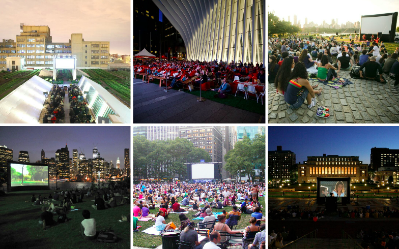 All the places in NYC to watch free outdoor movies this