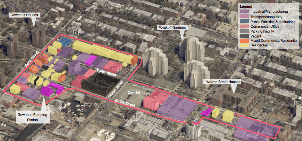 Gowanus rezoning, Draft Planning and Land Use Framework of Gowanus, Department of City Planning, Bridging Gowanus
