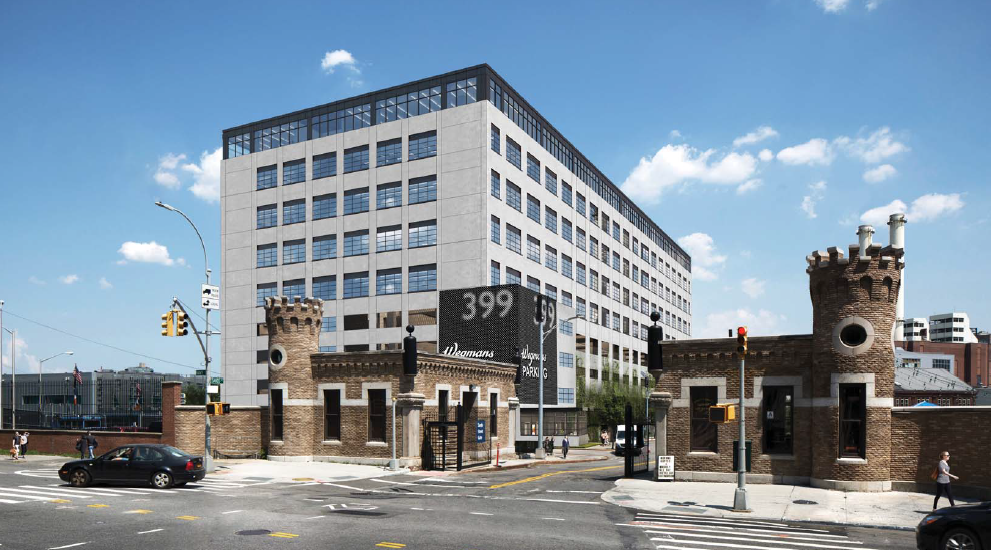 Construction kicks off on Dattner Architects' nine-story Brooklyn Navy Yard building