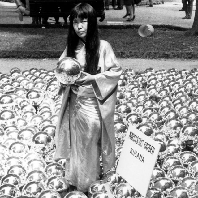 Yayoi Kusama's glittering 'Narcissus Garden' is coming to the Rockaways this summer