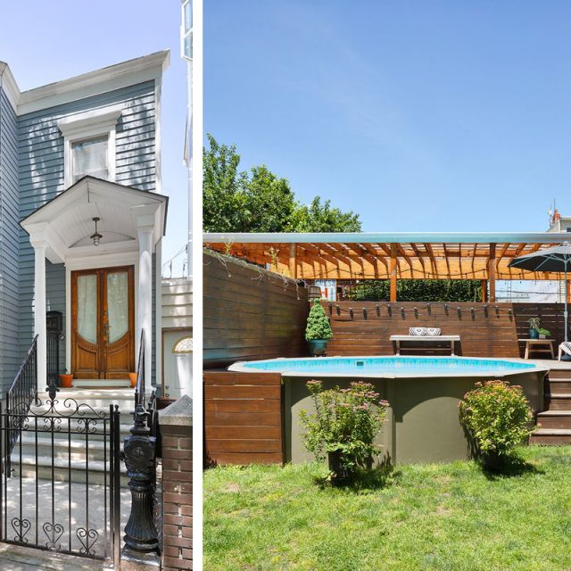 Adorable Williamsburg rowhouse with a swimming pool and three decks asks $3M