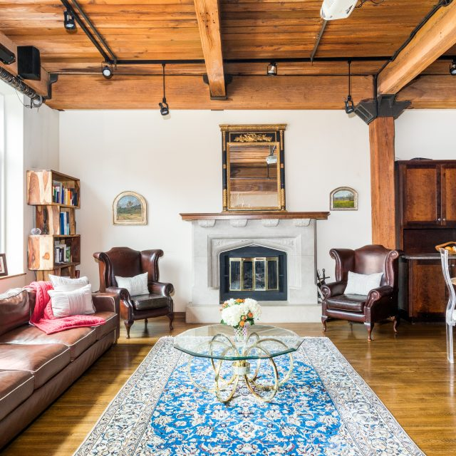 $3M Gramercy loft in former brewery dons original wood ceilings and beams