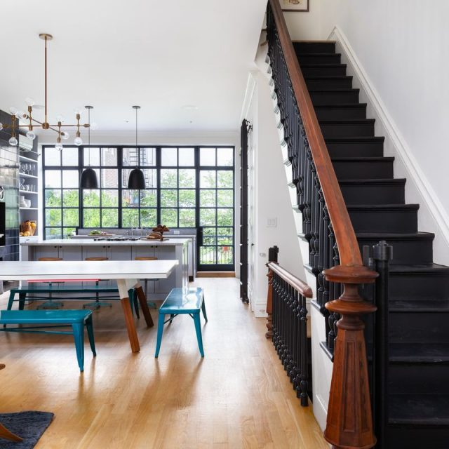 $4M Park Slope brownstone with interiors by Elizabeth Roberts embodies considered design