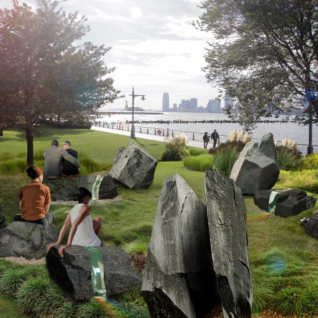 Construction well underway for interactive LGBTQ monument in Greenwich Village
