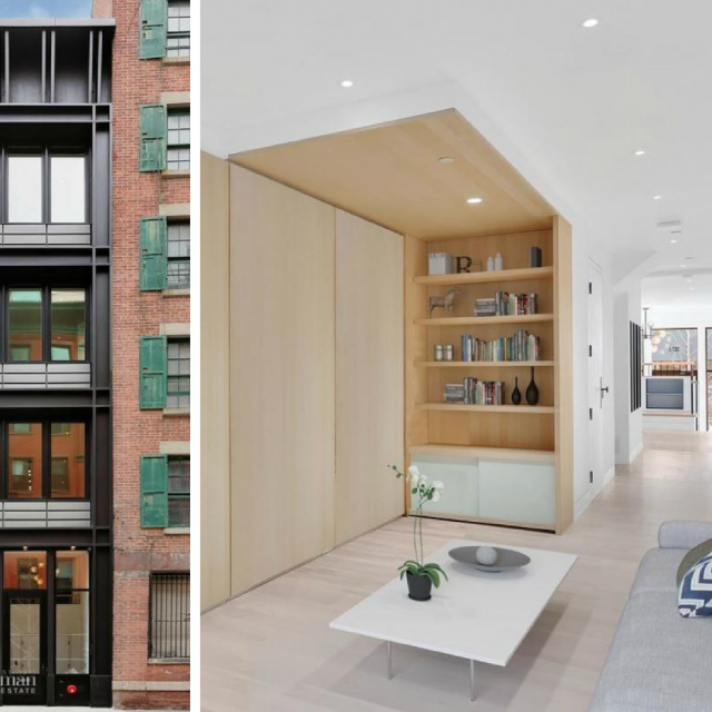 This $5M Seaport District townhouse is just 12 feet wide and made of metal