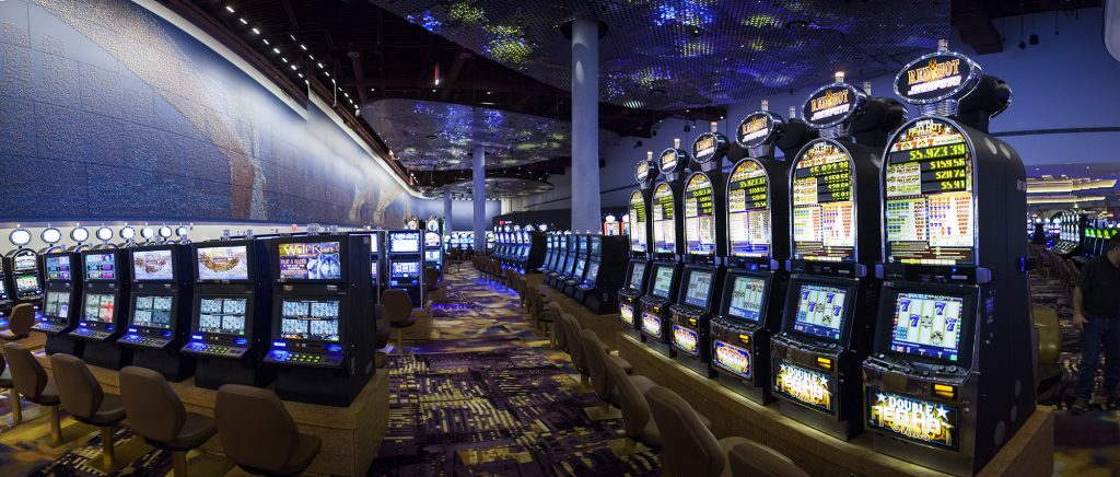 Empire City Casino slot machines