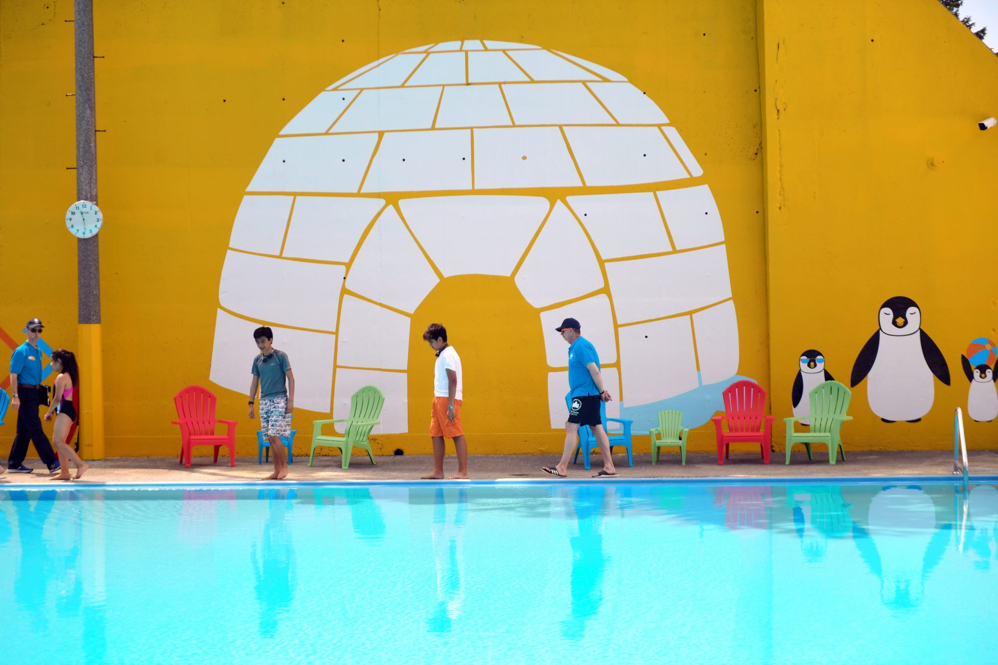 See The Colorful Makeovers Of Five NYC Public Pools | 6sqft