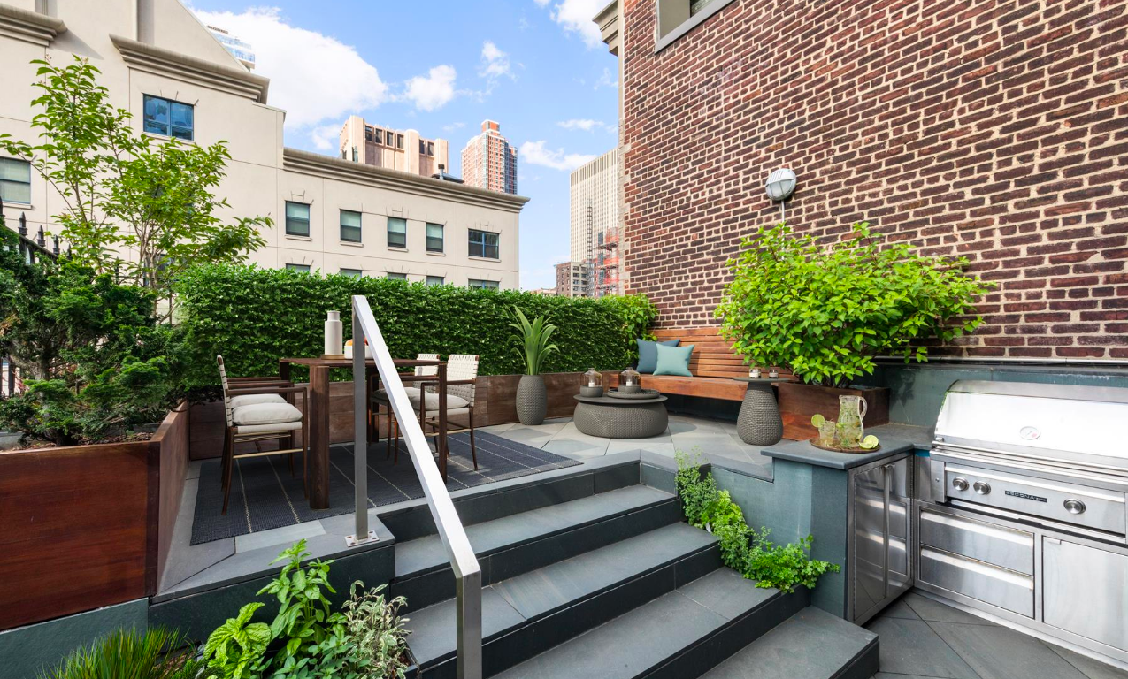 41 Warren Street, Tribeca, Outdoor spaces