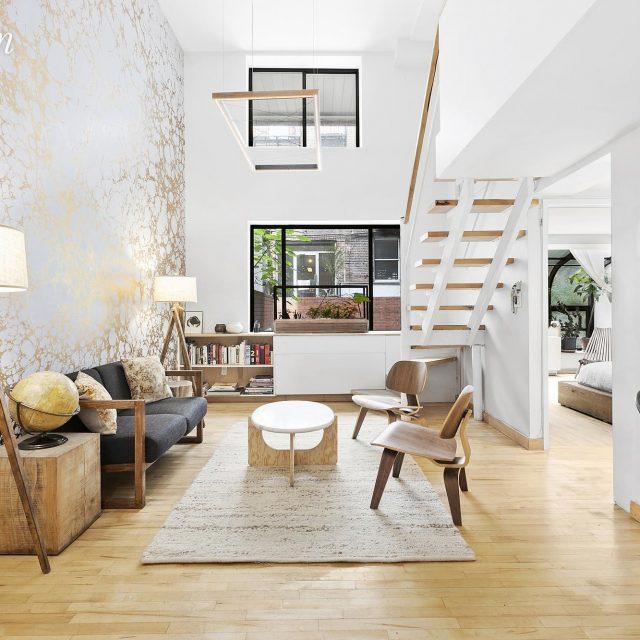 Beautiful design details and some unexpected curves make this $1.5M Nolita duplex a sunny sanctuary