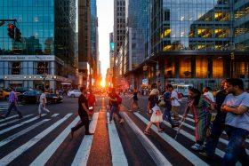 manhattanhenge, nyc events, sunsets