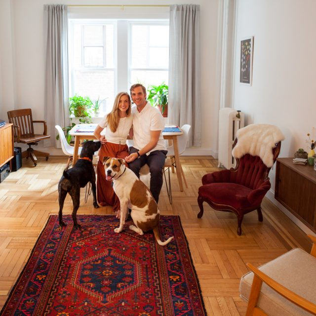 My 1,000sqft: Creative couple Amy and Brian show off their newly renovated Prospect Park South co-op