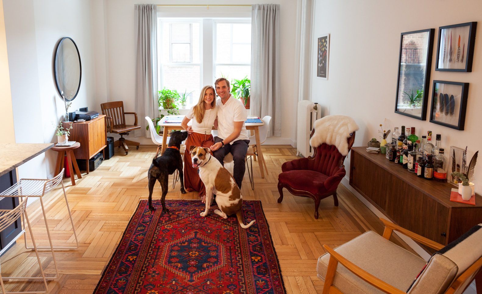 Posted On Tue, July 17, 2018 By Dana Schulz In Features, Interiors, My SQFT  House Tours, Prospect Park South