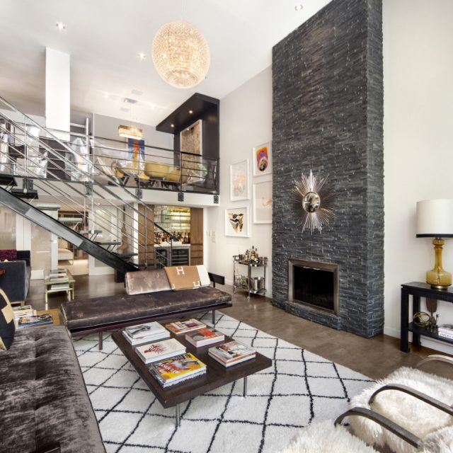 $3.7M Flatiron duplex boasts sophisticated interiors and a huge garden