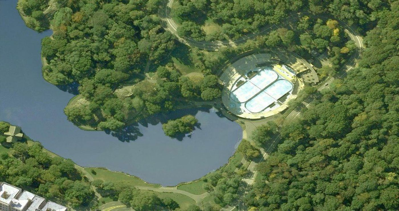 lasker pool, central park, central park conservancy