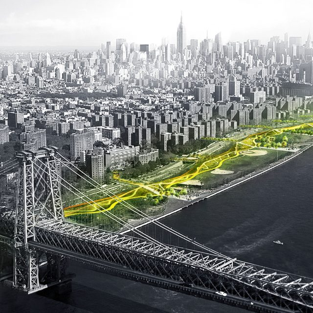 First phase of Bjarke Ingels' BIG U storm protection system begins planning process