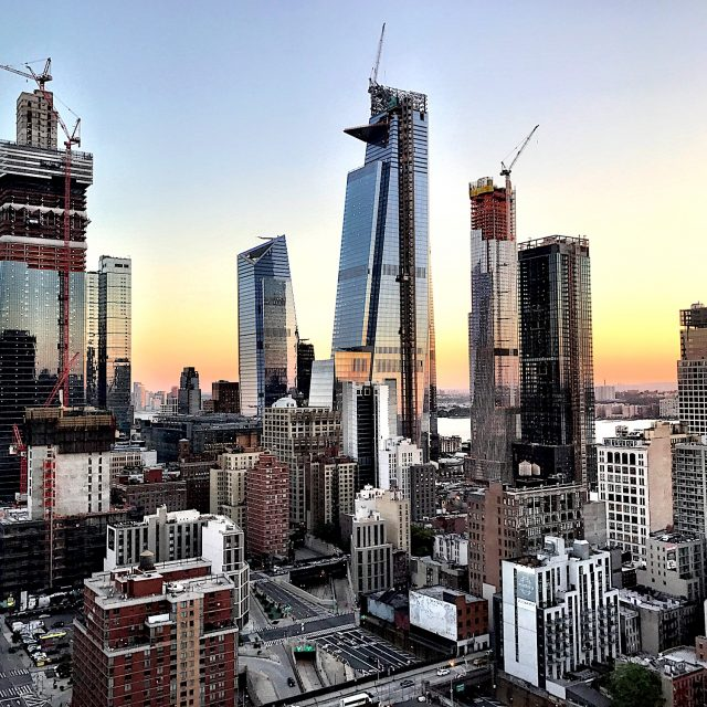 30 Hudson Yards officially tops out at 1,296 feet
