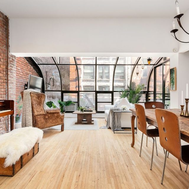 $1.8M Flatiron loft has a solarium, terrace, and room for another bedroom