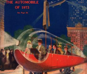 flying car, helicar, hugo gernsback, future NYC