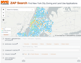 zap, zoning map, nyc planning
